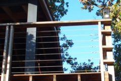 Terrasse en contre-plongée
