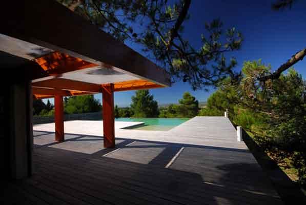 maison individuelle dans l'Aude avec piscine
