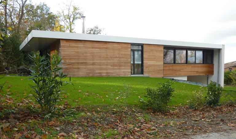 Maison Bo - Maison individuelle contemporaine