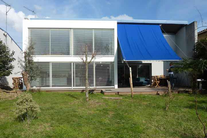 maison individuelle bioclimatique à toulouse