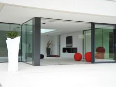 Terrasses en prolongement du sol intérieur