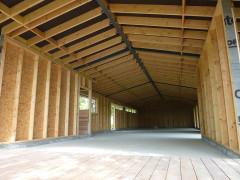 Maison Si, Construction, vue intérieure