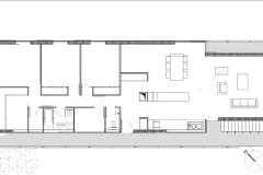 Maison SI, plan niveau 1.